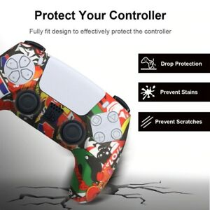 New Cover For Sony Playstation Five Controller Ps5 Console Dualsense Freeamp;Fast $6.99