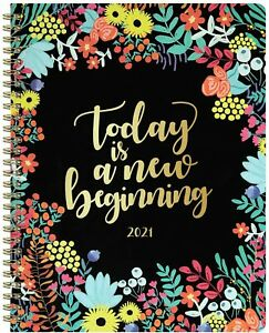 2021 Planner Monthly Weekly Daily Schedule Organizer Appointment Book 8 X 10