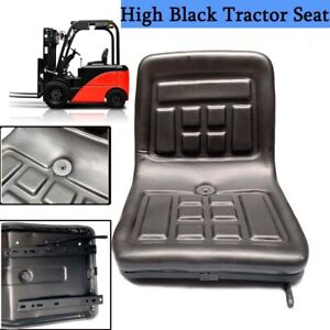 Garden Lawn Tractor Seat Sliding Black Tractor Riding Mower Seat Waterproof Us