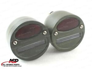 Willys Mb Ford Gpw Jeep Truck Military Cat Eye Rear Tail Light 4 Pair
