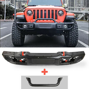 Steel Front Bumper For Jeep Wrangler Jl10th Anniversary Style W Grill Guard