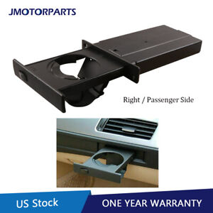 Right Side Retractable Cup Holder For 2004 2010 Bmw 5 Series E60 E61 51459125626