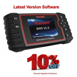 Icarsoft Bmw V2 0 Diagnostic Scan Tool Latest Software Extra Features