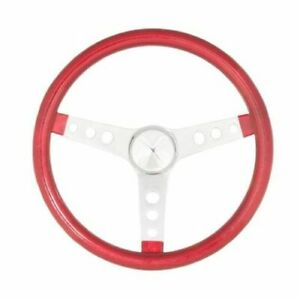 Grant Products 8465 15 Metal Flake Steering Wheel Red New