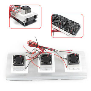 Used Semiconductor Refrigeration Thermoelectric Cooler Diy Peltie Cooler Device