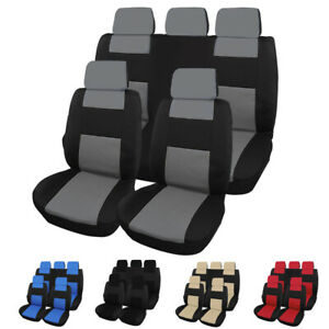 Car Seat Cover For 5 Seates Car Breathable And Non Slip Cover Protector