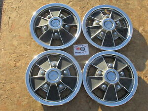 1965 72 Chevy Camaro Chevelle Nova 14 Mag Wheel Covers Hubcaps Set Of 4