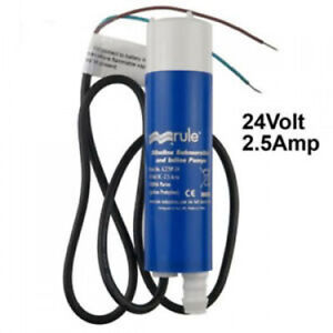 Genuine Rule Il200p In line Submersible Water Pump 12 V Dc 200 Gph