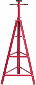 2 Ton Adjustable High Reach Tripod Jack Under Hoist Stand For Vehicle Repairing