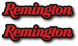 2x Remington Decal Sticker 3m Usa Window Car Firearm Gun Rifle Ammo Hunting
