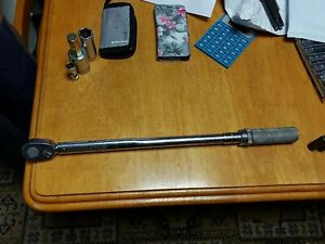 Snap On 1 2 Ratchet Torque Wrench