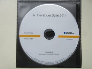 National Instruments Ni Developer Suite 2011 Ds1 With Serial Number
