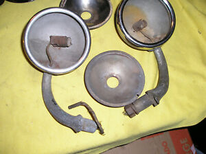 4 Original Ford Model A Cowl Lights 1930 31