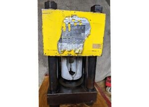 Weatherhead T 410 2 Hydraulic Hose Crimper With Electric Motor And 15 Dies