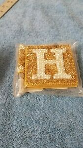 New Pier 1 Mini Note Pad And Pen Gold H Nwt
