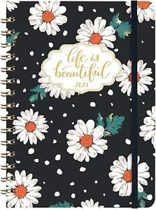 2021 Planner Hardcover Monthly Weekly Daily Calendar Organizer Appointment Book
