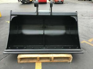 New 60 Ditch Cleaning Bucket For A Kobelco Sk130 4