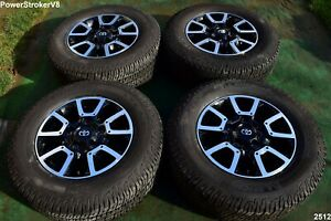 18 Toyota Tundra Off Road Oem Factory Wheels Tires Trd Offroad Sequoia