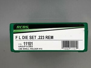 RCBS 223 Remington Full Length 2 Die Set #11101 $69.94