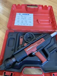 Hilti Dx 351 ct Compact Powder Actuated Tool Fastening W case Complete Pole Gun