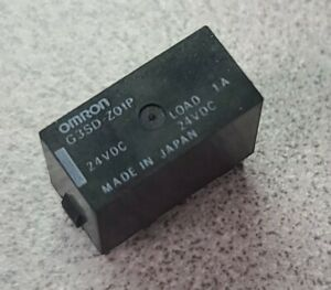 Omron G3sd z01p 24vdc Plug In Solid State Relay 1a Spst 24dc 1 Input 1 Output