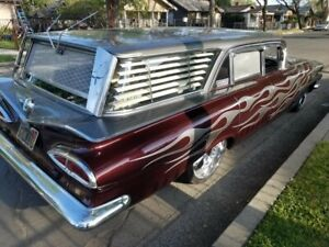 1959 1960 Chevy Wagon Side Blinds Left Amd Right Only sale