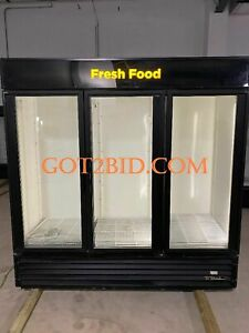 True Gdm 72 ld 3 Door Glass Door Merchandising Cooler