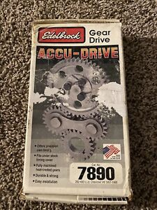 Edelbrock 7890 Accu Drive Cam Gear Drive For 57 95 Small Block Chevy 265 400