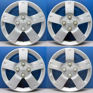 2006 2011 Chevrolet Aveo 3250 14 Hubcaps Wheel Covers 96653144 Used Set 4