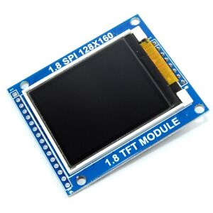1 8 Inch Serial Spi Tft Lcd Colour Graphic Display Module Resolution 128x160