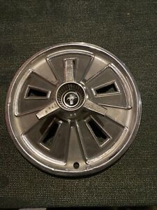 1 1966 Ford Mustang Hubcaps Spinner Center Cap Vintage Oem Wheel Covers