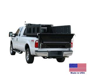 Pickup Bed Dump Kit Polymer Construction For 8 Ft Beds Incl Controls