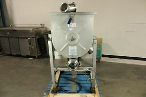 Hollymatic Gmg 180a 200 Meat Mixer Grinder Butcher Commercial Side Feed 10hp
