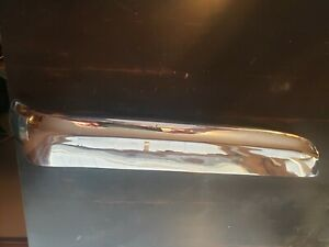1961 1962 1963 Chrysler Imperial Front Bumper Left Top Chrome Oem