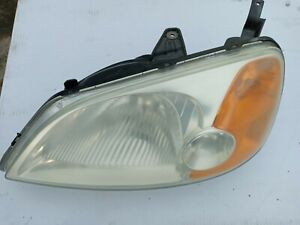 Honda Civic 2002 2004 Headlamp Assembly Left Side