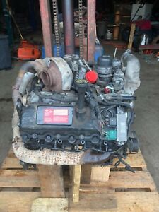 2006 Ford 6 0 Powerstroke Diesel Engine Complete For Parts Or Rebuildable Core