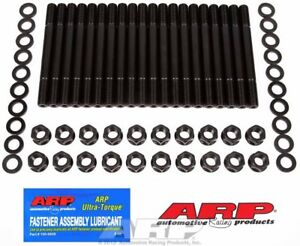 Arp 154 4004 6 cylinder Head Stud Kit hex Nuts Fit Ford 15 351 Cleveland