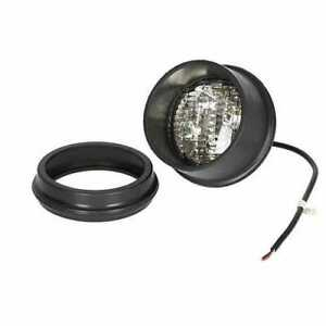 Led Fender Work Light 40w Round Rear Mount Flood Beam Compatible With