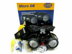 Hella Micro De Projector Fog Lamp Kit Fits For All Cars Bikes