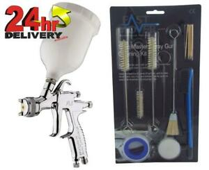 Devilbiss Flg 5 2 0mm Paint Air Spray Gun 13 Piece Cleaning Kit