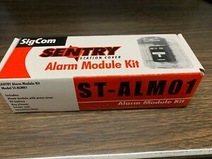 Sigcom Sentry St alm01 Alarm Module Kit For Pull Station Cover New Free Ship
