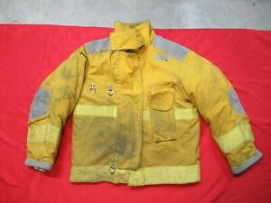Mfg 1994 Janesville Lion 44 X 29 Towing Safety Jacket Turnout Bunker Fire Coat