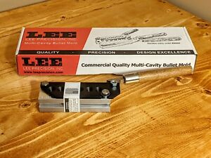 Lee Precision 6 Cavity Bullet Mold TL356 124 2R for 9mm .380 auto 90465 $119.95