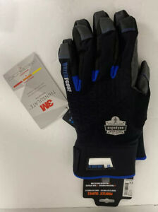 Ergodyne Winter 817wp Reinforced Thermal Waterproof Insulated Work Gloves 2xl
