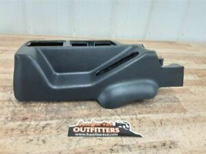 Jeep Tj Wrangler Oem Front Section Center Console Slate Black 2003 2004 36126