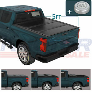 Hard Tri Fold Tonneau Cover Truck Bed 5 61 0 For Ford Ranger 2019 2020 2021