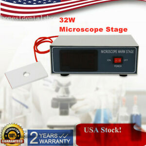 Microscope Heating Digital Control Constant Thermostat Board Warmer Dental Lab