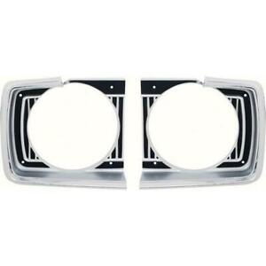 Oer Ma1128 1967 Dodge Dart Headlamp Bezels