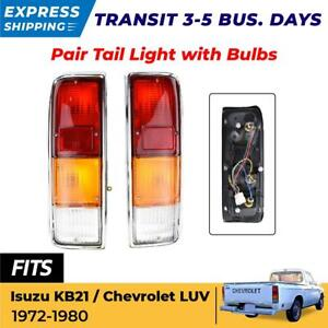 For Isuzu Kb21 Chevrolet Luv Pickup Truck 1972 80 Tail Lights Rear Lamp Assembly