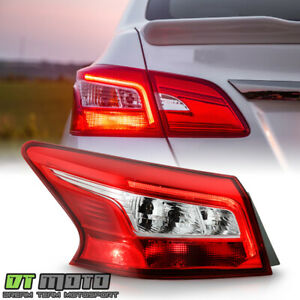 For 2016 2018 Nissan Sentra Oe Style Led Tail Light Brake Lamp Outer Driver Side
